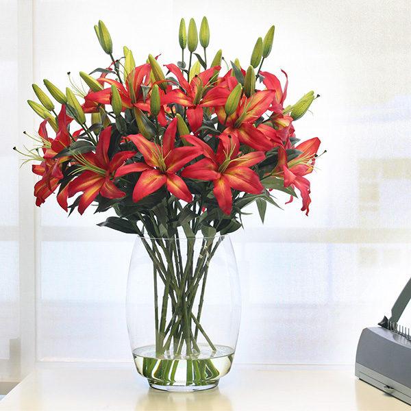 Artificial-Flame-Lily-rental-arrangement.jpg